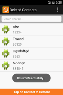 [Download Restore Contacts for PC] Screenshot 1