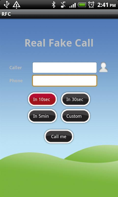 Real Fake Call - screenshot