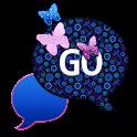 GO SMS THEME/DragonflyGlitter1 icon