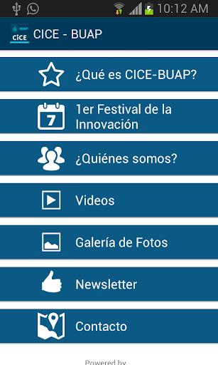 CICE - BUAP