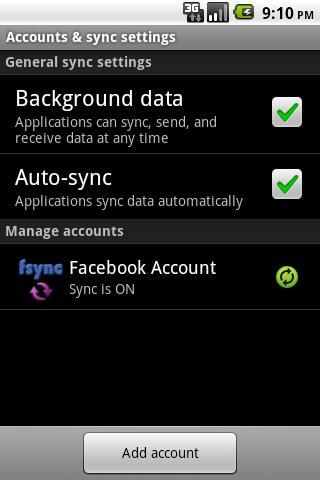 Friends Sync- screenshot