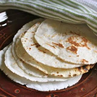 Gluten-Free Flour Tortillas.