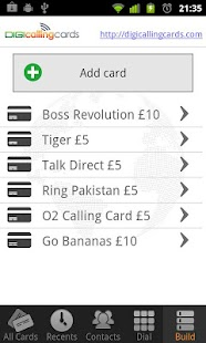 Digi Calling Cards Dialer - screenshot thumbnail