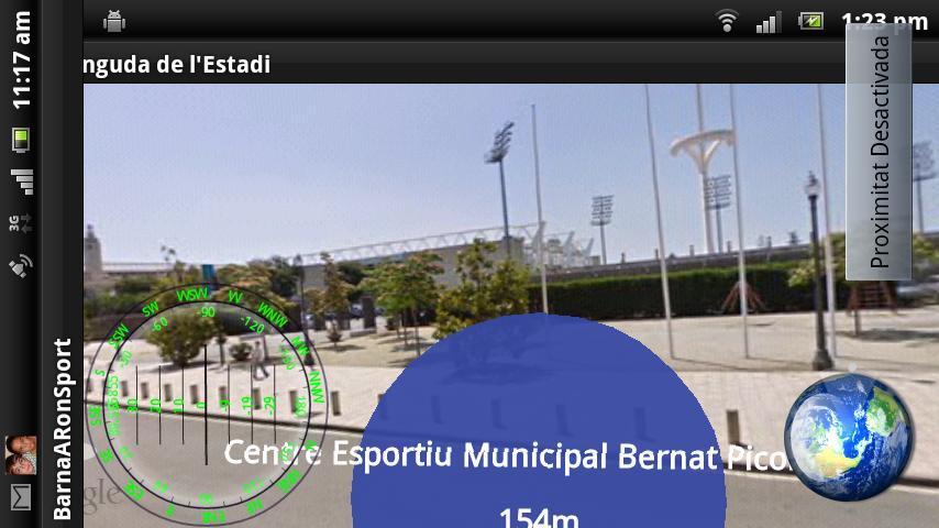 BarnaOnSports- screenshot
