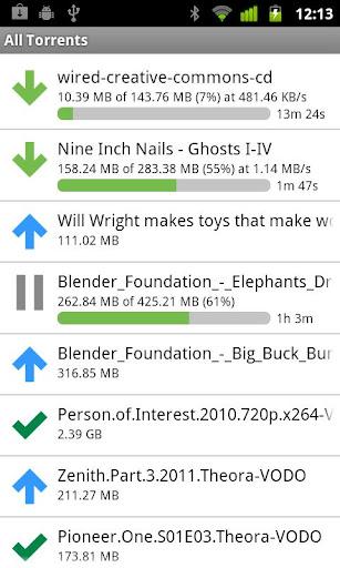 uTorrent android app working