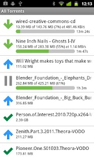 µTorrent®  Remote- screenshot thumbnail