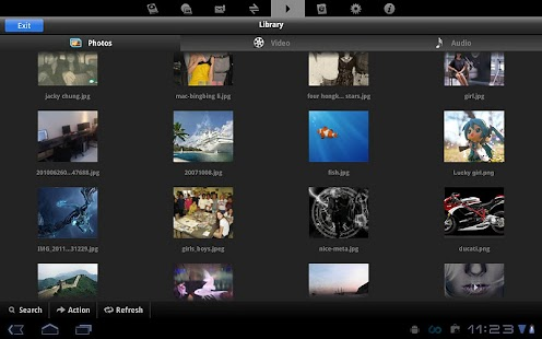 File Manager for Tablets - screenshot thumbnail