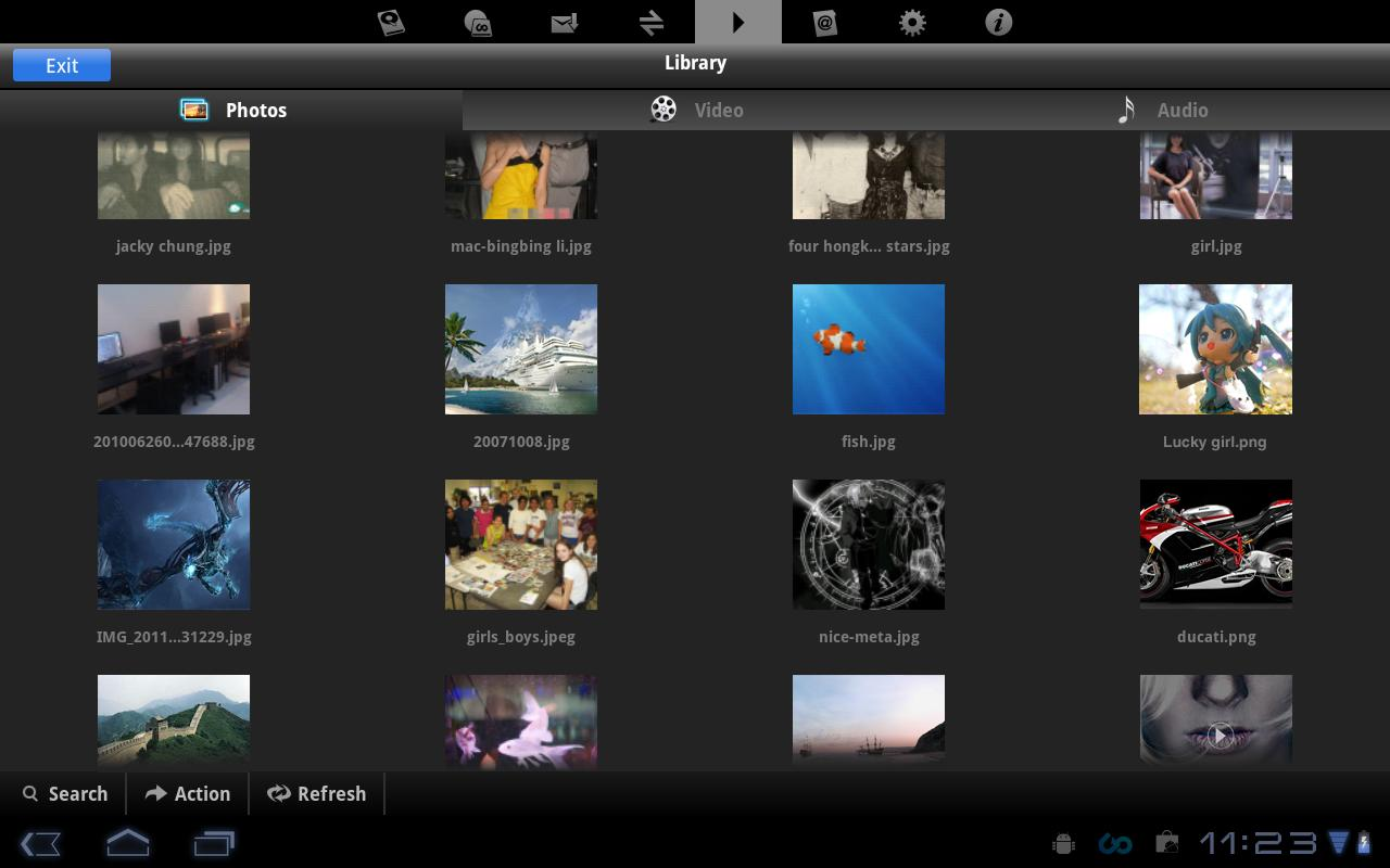 File Manager for Tablets - screenshot