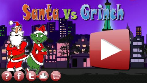 Santa Vs Grinch