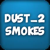 CS:GO smokes (Dust_2)