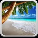 Tropical Beach Live Wallpaper icon