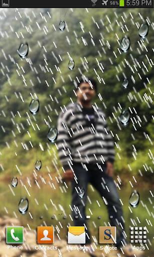 My Photo Rain live wallpaper