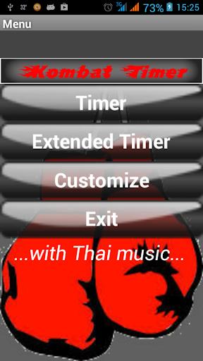 Kombat Muay Thai Music Timer