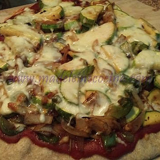 Whole Wheat Vegetable Pizza.