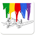 Aircraft Planes Coloring Page icon