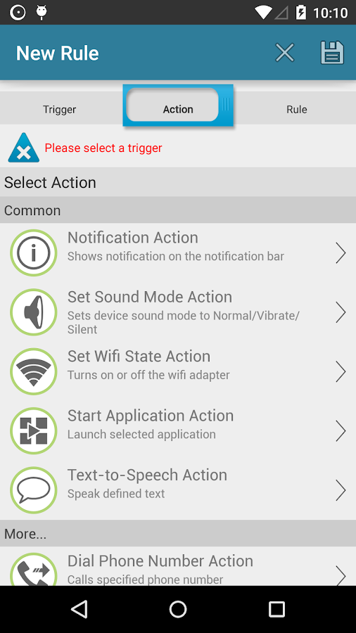 AutomateIt Pro - screenshot