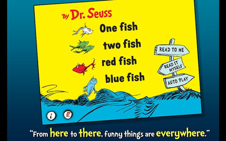 One Fish Two Fish - Dr. Seuss Screenshot