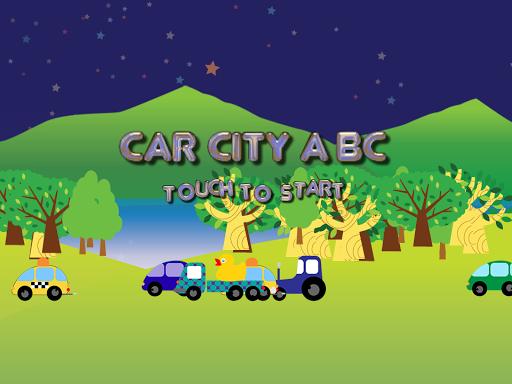 汽车城市 - ABC儿童游戏