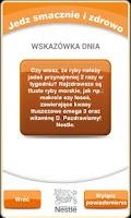 Screenshot of Posiłkomierz
