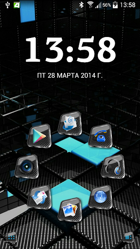 SL Square 3d Theme