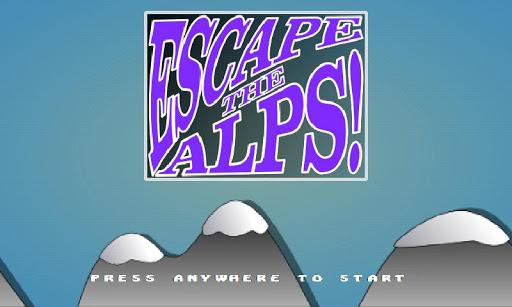 【免費街機App】Escape the Alps!-APP點子