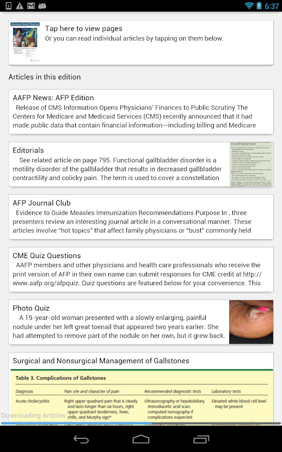 American Family Physician- screenshot