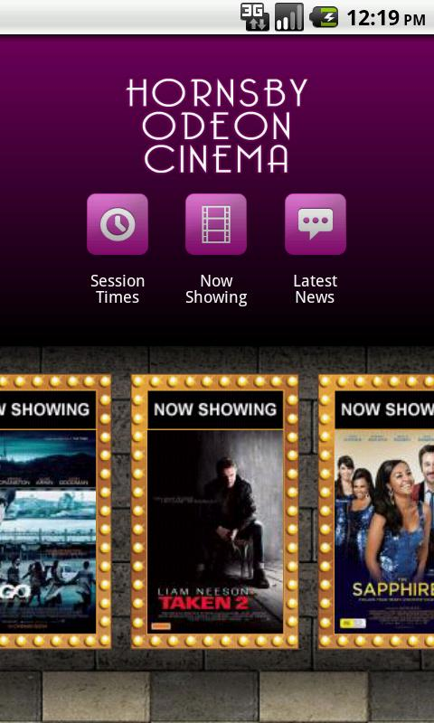 Hornsby Odeon Cinema - screenshot