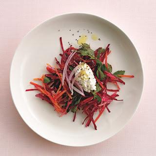 Italian Parsley and Beet Salad