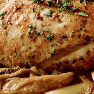 Pressure Cooker Chicken Marsala.