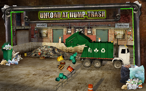 Garbage Trucker Recycling Sim- screenshot thumbnail