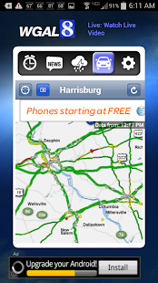 Alarm Clock WGAL 8 Susq Valley - screenshot thumbnail