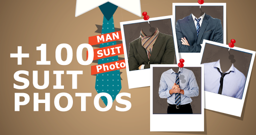 Man Suit Photo Montage 2015