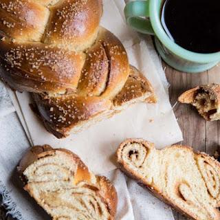 Cinnamon Roll Challah Bread