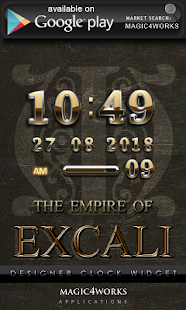 EXCALI GO Launcher theme - screenshot thumbnail