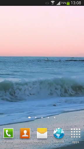 Sunrise Ocean Live Wallpaper