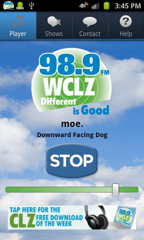 98.9 WCLZ- screenshot