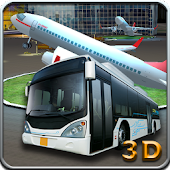 Airport Bus Runway Parking