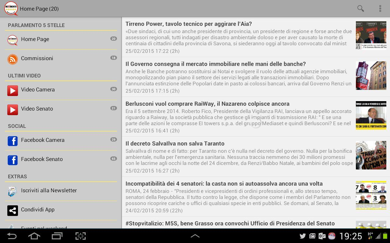 parlamento 5 stelle android apps on google play