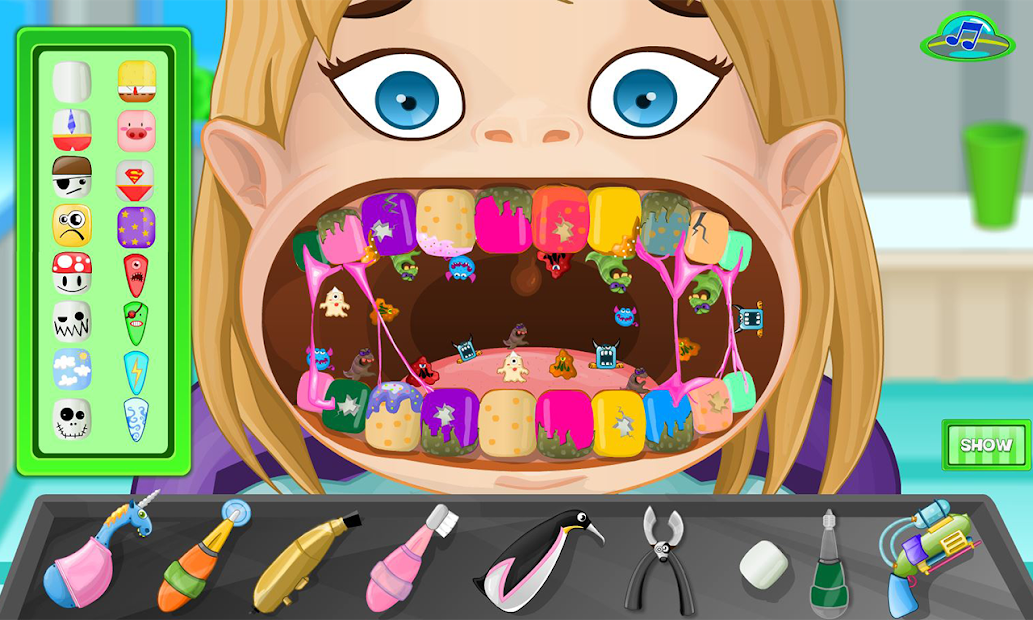 Dentist fear Android App Screenshot