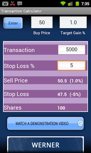 Transaction Calculator Pro