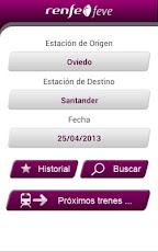 Movilidad sostenible asturiana nueva app de horarios de feve for Horario de trenes feve