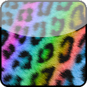 Rainbow Cheetah Keyboard Skin icon
