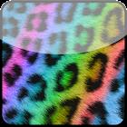 Rainbow Cheetah Keyboard Skin icon