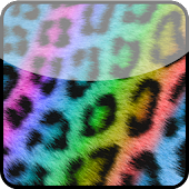 Rainbow Cheetah Keyboard Skin
