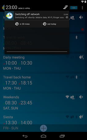 Network Scheduler Wifi 3G BT 1.6 screenshot 1353634