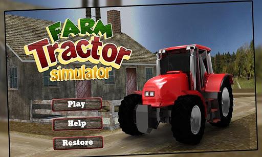 3D農用拖拉機模擬器遊戲