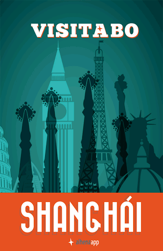 Shanghái guía mapa offline