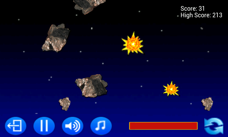 Rock Blaster- screenshot