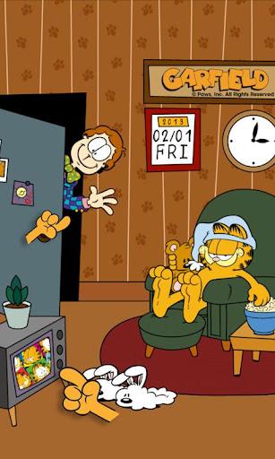 Home Sweet Garfieldライブ壁紙!無料版