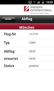 Flugtafel Flughafen Dresden- screenshot thumbnail